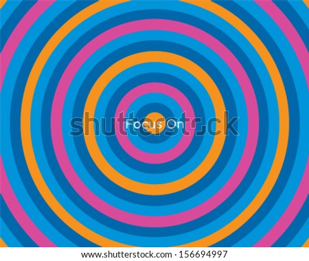 Rounded Pattern - stock vector