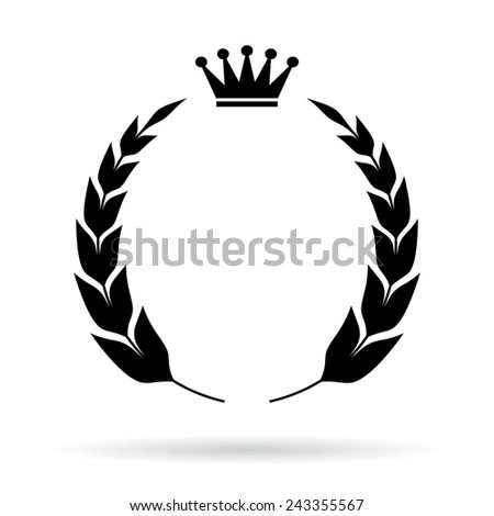 Royal heraldic emblem - stock vector