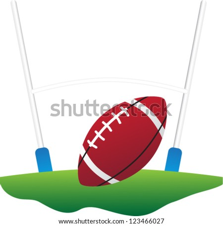rugby vector - stock vector