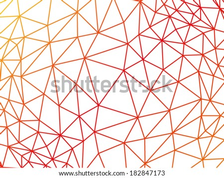 Rumpled triangular low poly style geometric pattern texture abstract vector illustration graphic background - stock vector