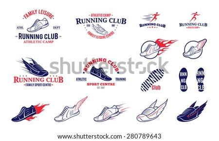 Running Logo Images Running Club Logo Labels