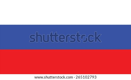 russia Flag for Independence Day and infographic Vector illustration. - stock vector