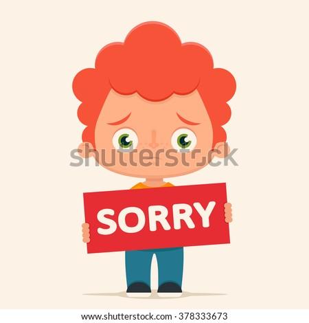 Sad Child Stock Vectors & Vector Clip Art | Shutterstock