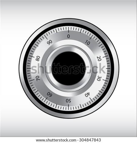safe lock symbol vector illustrations - stock vector