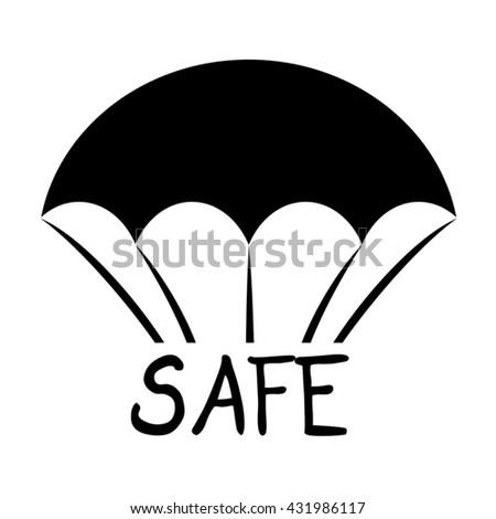 safe symbol - stock vector