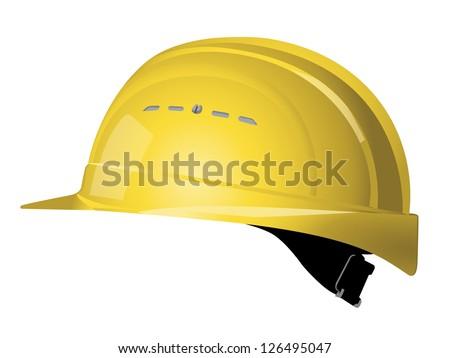 Safety Helmet Vector - stock vector