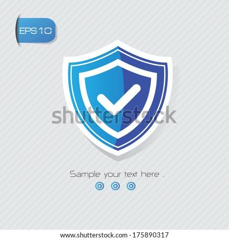 Safety symbol,vector - stock vector