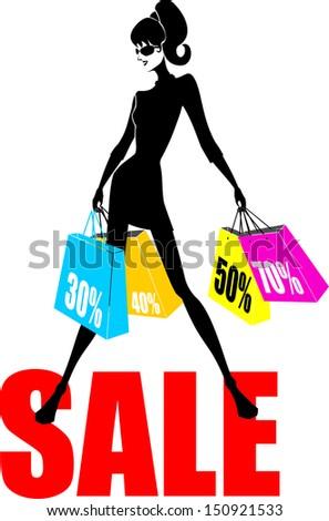 Sale - stock vector