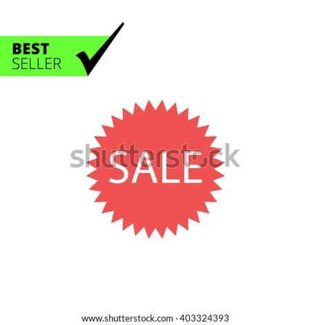 Sale label - stock vector