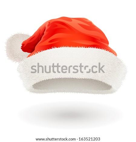 Santa Claus hat - stock vector