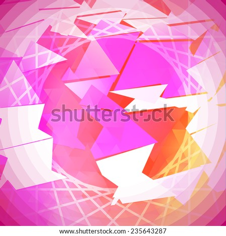 Saturated Abstract Background Vector - stock vector