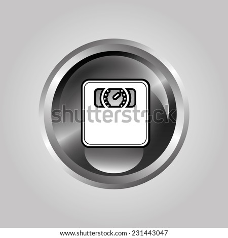 scale graphic design , vector illustration - stock vector