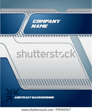 Science business corporate background - stock vector