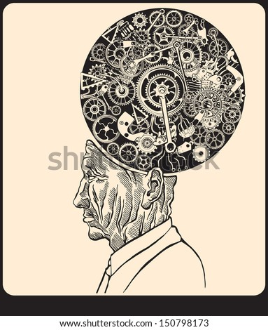 Scientist. - stock vector
