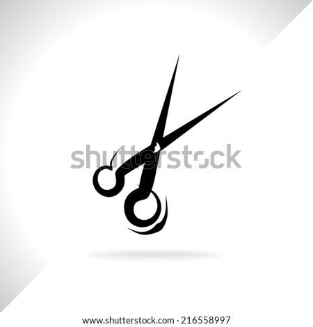 scissors - stock vector