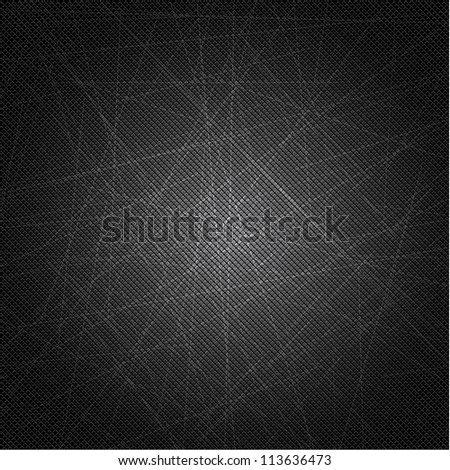 Scratched Metal Texture - stock vector
