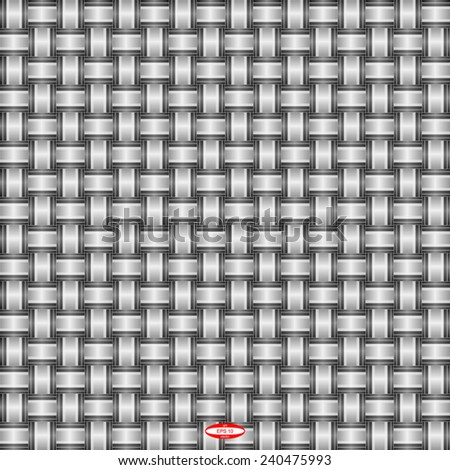 seamless abstract black white pattern black white texture with black line wicker black white background vector - stock vector