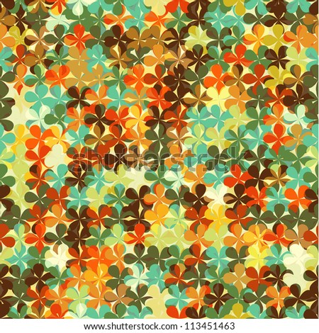 Seamless abstract bright background texture, wallpaper pattern - stock vector