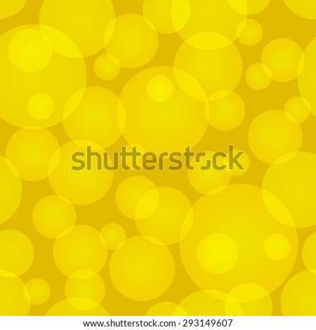 Seamless abstract circles background. - stock vector