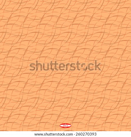 seamless abstract copper pattern bronze texture abstract ginger line on beige background vector - stock vector