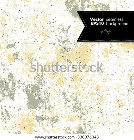 Seamless abstract grunge color vector texture - stock vector
