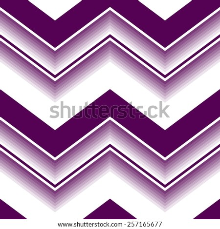 Seamless abstract pattern with violet and white curved lines - stock vector
