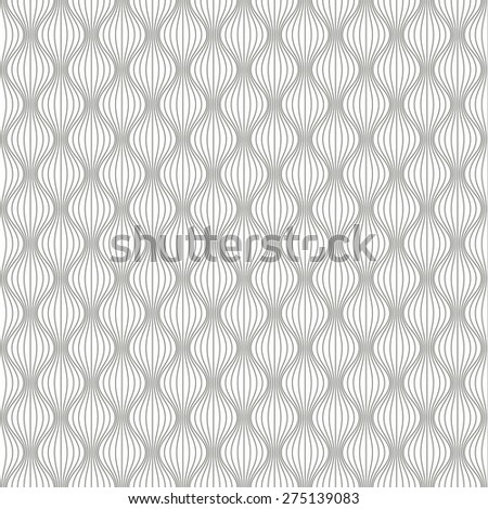 Seamless abstract wave pattern background.  - stock vector