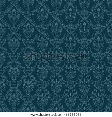 Seamless background for retro design - stock vector