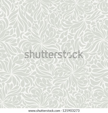 Seamless background of gray - stock vector