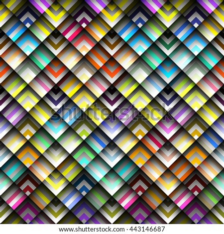 Seamless background pattern. Abstract geometric squared pattern - stock vector