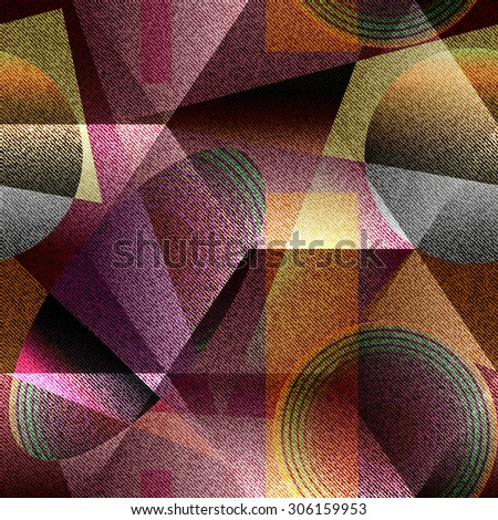Seamless background pattern. Abstract geometric textured background. - stock vector