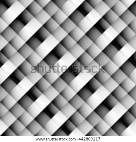 Seamless background pattern. Diagonal strips in pixel style - stock vector