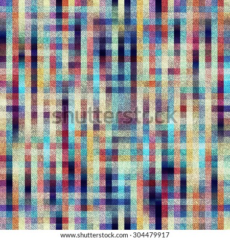Seamless background pattern. Plaid background with diagonal texture. - stock vector