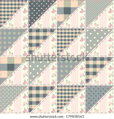 Shabby Chic Quilting Patterns Free Quilt Pattern