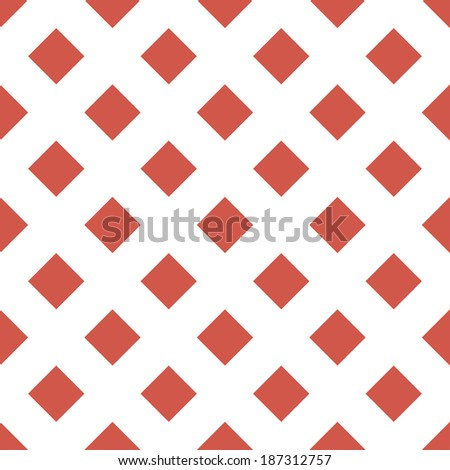 seamless background with a diamond gaming suit on a white background - stock vector