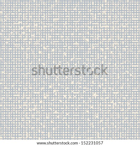 seamless blue  netting pattern - stock vector