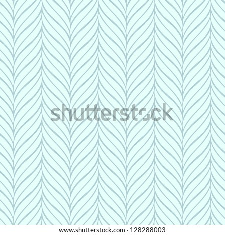 Seamless blue pattern - stock vector