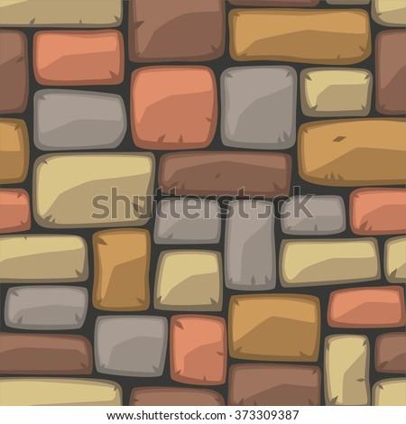 cartoon square stones texture - photo #1