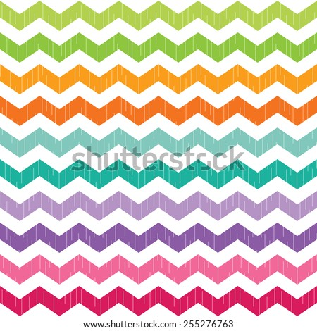 Seamless Chevron Background Mint Green And Coral Wallpaper