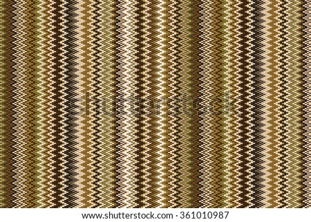 Seamless chevron pattern in brown and beige. artbackground - stock vector