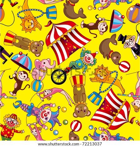 Circus Theme Invitation with great invitations design