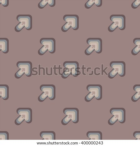 Seamless colorful abstract pattern from arrows - stock vector