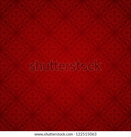 Seamless colorful retro pattern background - stock vector