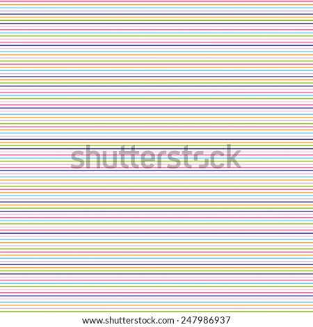 seamless colorful stripes pattern - stock vector