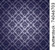 Seamless Damask Wallpaper Pattern - stock vector