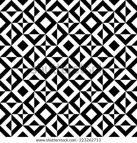 Seamless Decorative Background - stock vector