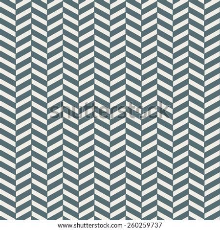 Seamless denim blue herringbone pattern vector - stock vector