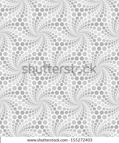 Seamless dot pattern - stock vector