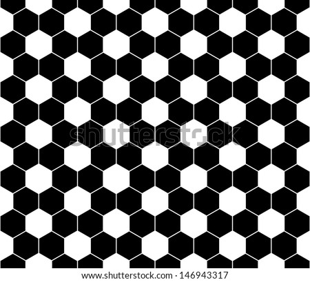 Seamless football pattern. EPS 8 vector file included - stock vector