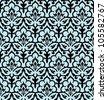 Seamless geometric background illustration - stock vector